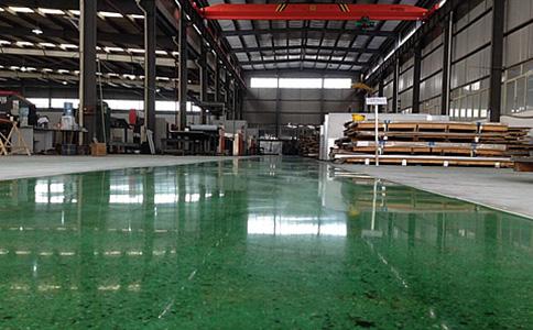 固化染色地坪 彩色固化地坪施工