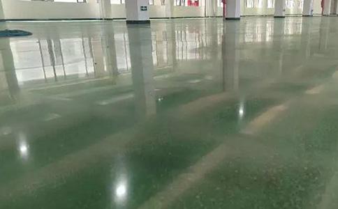 金刚砂固化地坪施工方案