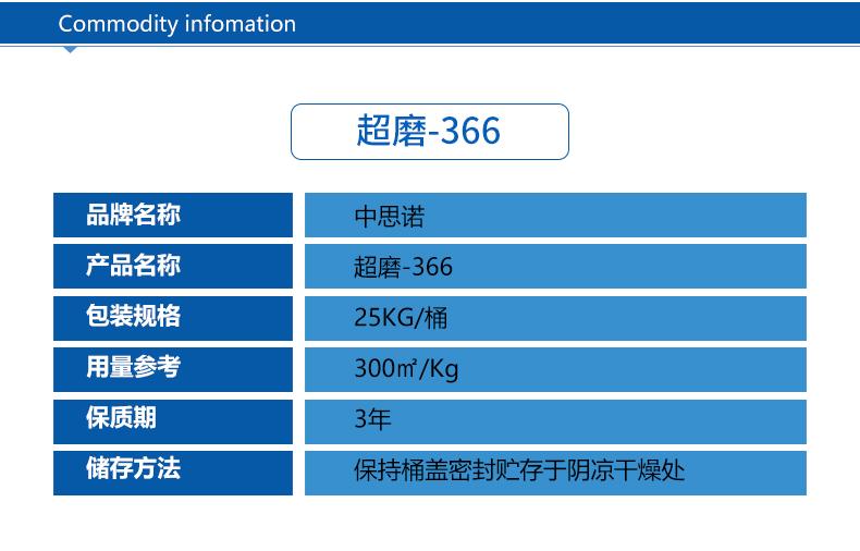 超磨366-混凝土抛光液产品详情